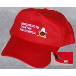 Czapka z haftowanym logo MDP