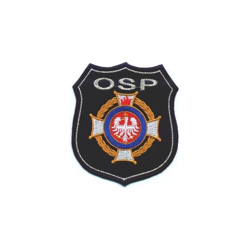Emblemat OSP z logo ZOSP