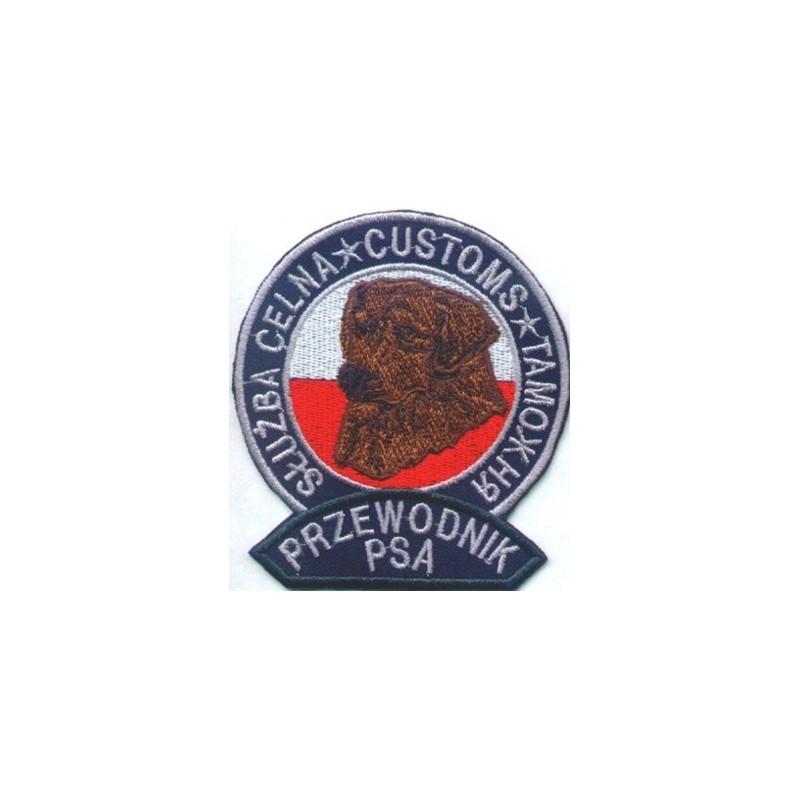 Emblemat funkcjonariuszy - przewodników psów służbowych