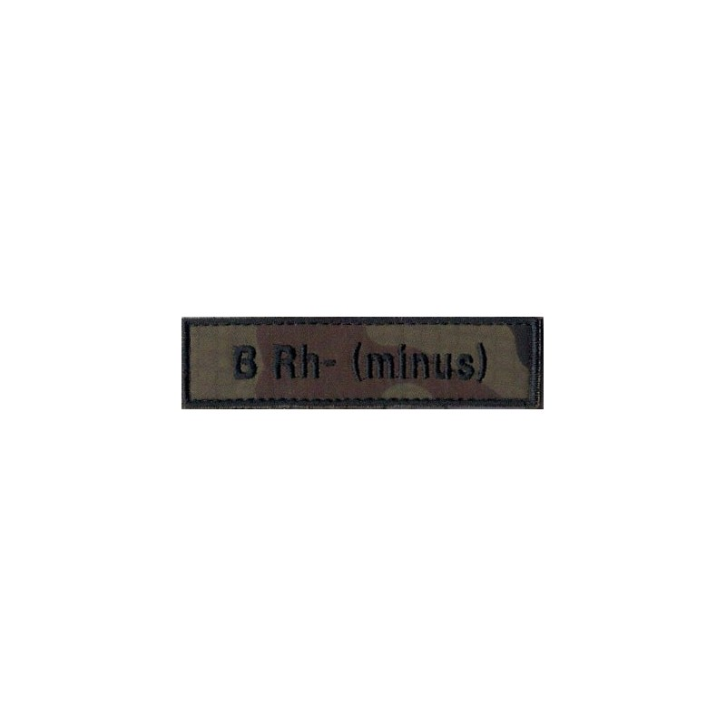 B Rh- (minus)