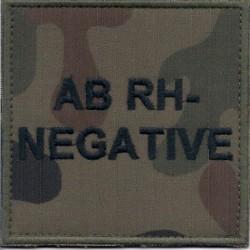 AB Rh- (minus) wz.2010