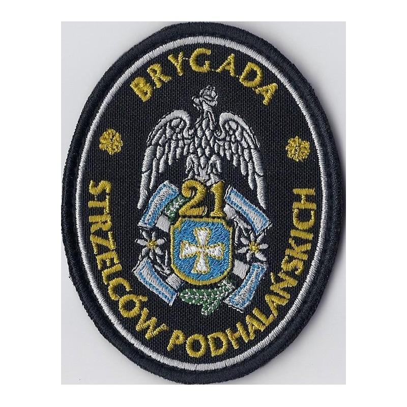Emblemat 21 BSP wyjściowy