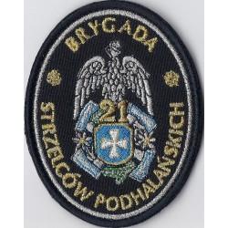 Emblemat 21 BSP galowy