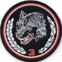 Emblemat polowy 3 Podkarpackiej Brygady Obrony Terytorialnej - wersja 1