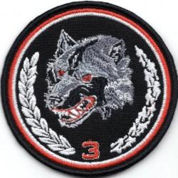 Pierwszy projekt emblematu 3 Podkarpackiej Brygady Obrony Terytorialnej - wersja 1