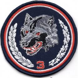 Projekt emblematu 3 Podkarpackiej Brygady Obrony Terytorialnej - wersja 2
