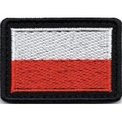 Oznaka przynależności państwowej na mundur polowy - flaga