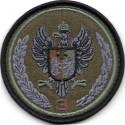 Emblemat polowy 3 Podkarpackiej Brygady Obrony Terytorialnej - oficjalny