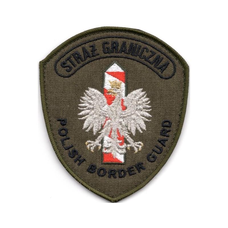 Emblemat służbowy SG - PBG (oliwkowy)