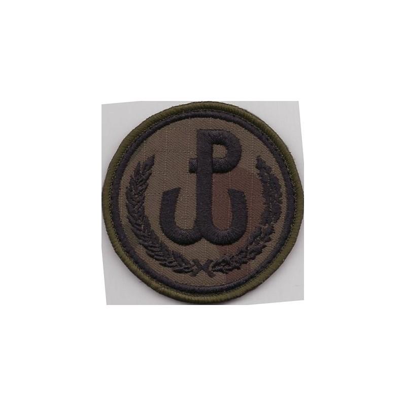 Emblemat Dowództwa Wojsk Obrony Terytorialnej na mundur polowy (wg systemowego projektu)