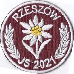 Szarotka JS 2021 Rzeszów naszyta na rzep