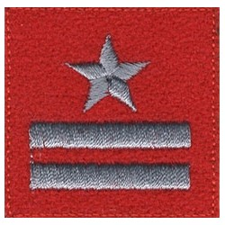 Major - szkarłatny beret
