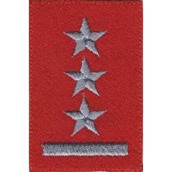 Porucznik - szkarłatny beret