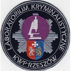 KWP w Rzeszowie - Laboratorium Kryminalistyczne