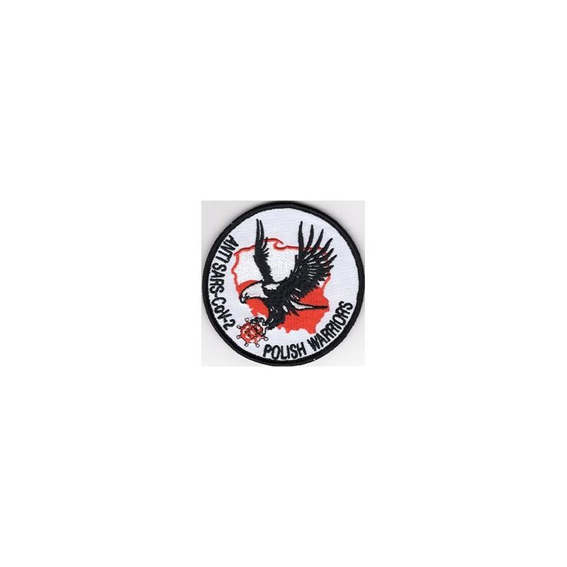 Emblemat ANTI SARS-CoV-2