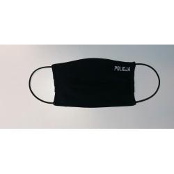 Maseczka granatowa POLICJA - rozmiar 2