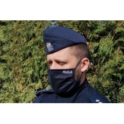 Maseczka granatowa POLICJA - rozmiar 1
