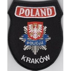 Policja Kraków Poland - emblemat okolicznościowy