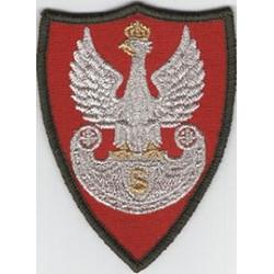 Znak organizacyjny ZS Orzeł Strzelecki (na ramię) naszyty na rzep