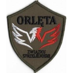Znak organizacyjny Orląt Znaczek Orląt (na ramię) naszyty na rzep