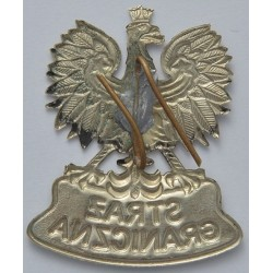 Orzeł metalowy Straży Granicznej