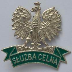 Orzeł metalowy Służby Celnej