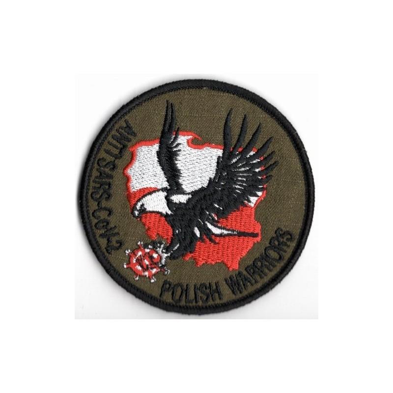 Emblemat ANTI SARS-CoV-2 - sg2015