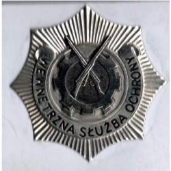 Metalowa Oznaka Wewnętrznch Służb Ochrony