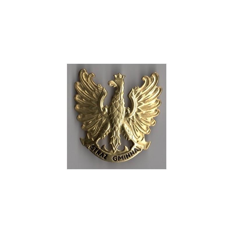 Orzeł metalowy Straży Gminnej
