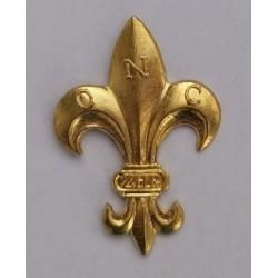 Lilijka ZHP złota mocowana na druciki
