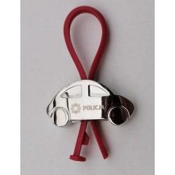 Brelok auto Policja (czerwone)