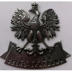 Orzeł metalowy Służby Celno...