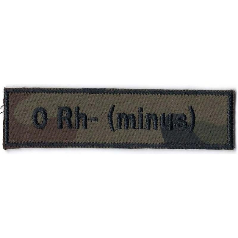0 Rh- (minus)