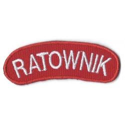 Ratownik - czerwony (rzep)