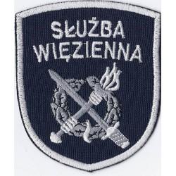 Emblemat naramienny Służby Więziennej