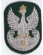 Emblematy haftowane dla Związku Strzeleckiego